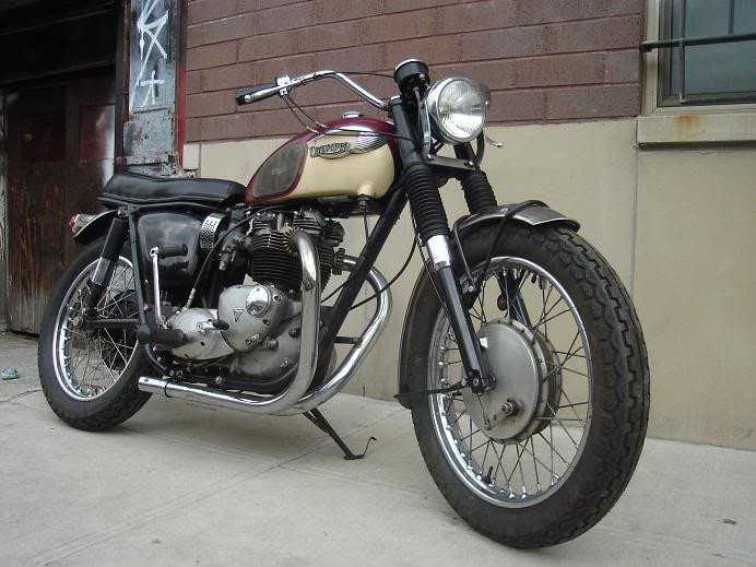 1960s US Only Competition Bonneville And Trophy 650 Motorcycles